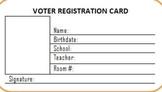 Kids Voters Registration Card