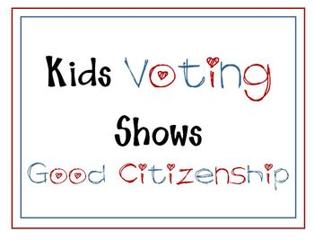 Kids Voting Sign