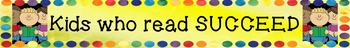 Kids Who Read SUCCEED Banners