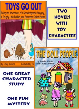 TOYS GO OUT (with song) and THE DOLL PEOPLE by Ann M. Martin and Laura Godwin