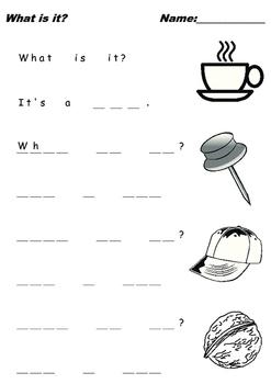 practice writing kindergarten
