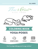 Kids Yoga Coloring Book