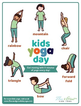 Kids Yoga Day (or Any Day) Yoga Sequence