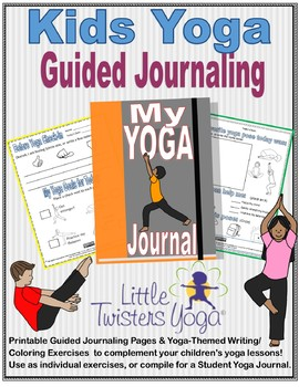 Kids Yoga Guided Reflective Journaling Packet