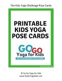 Kids Yoga Pose Cards