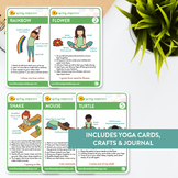 Kids Yoga Spring Sequence Pose Cards / Yoga Card Deck