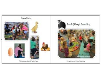 Kids Yoga for Your Favorite Books! Series 1: THE FARM! Plus 3 Lesson Plans!
