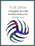 Kids Youth Volleyball Camp BUNDLE Grades K-6!!!! Practice