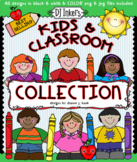 Kids and Classroom Clip Art - Download Collection - Distan