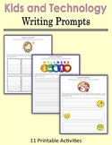 Kids and Technology - Writing Prompts