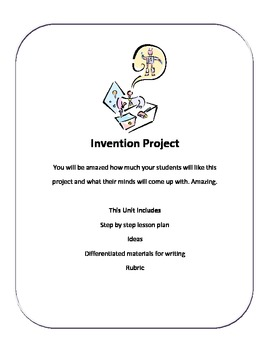 Kids are Creative and Creating Invention Project