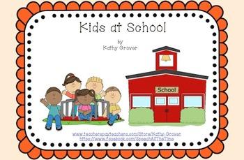 Kids at School: An Interactive Rhyming Book