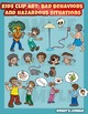 Kids clip art: bad behaviors and hazardous situations