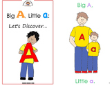 Kids in Action Alphabet Emergent Readers: 26 Books to Teach Letters and Sounds