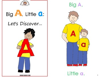 Kids in Action Alphabet Emergent Readers: 26 Books to Teac