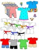 Kids in Action: Paper Doll Clothes Booster Pack 1 Clip Art