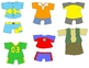 Kids in Action:  Paper Dolls for Spring and Summer Clip Art 36 PNG's