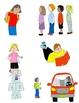 Kids in Action School Days Clip Art Bundle