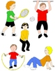 Kids in Action: Sports and PE 2  36 PNGs