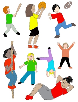 physical therapy clip art resources lesson plans teachers pay rh teacherspayteachers com pe uniform clipart clipart pe kit