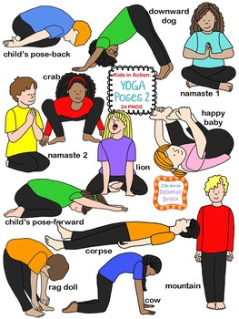 Kids in Action: Yoga Poses 2