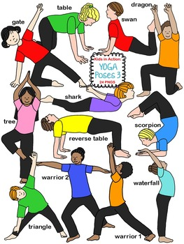 Kids in Action: Yoga Poses 3