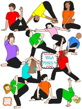 Kids in Action: Yoga Poses 4