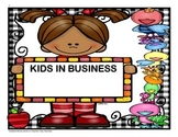 Kids in Business - 4th Grade - Trifolds + Activities