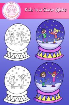 Kids in a Snow Globe Dual Pack