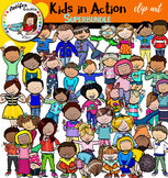 Kids in action- Big set of 80 items!