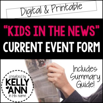 Current Event - Kids in the News