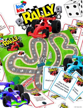 Kids n' Kids Rally, A boardgame