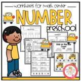 "Kids on the Bus Number Worksheets ""No Prep"""