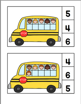 Kids on the Bus - Working with Numbers