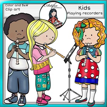 Image result for Kids playing recorder