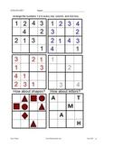 Kids stuff! Sudoku, bar graphs, money, clocks/telling time