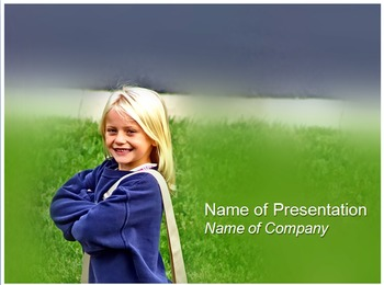 Kids to Learn PowerPoint Template