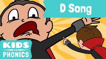 Kids vs Phonics Songs for Children - D
