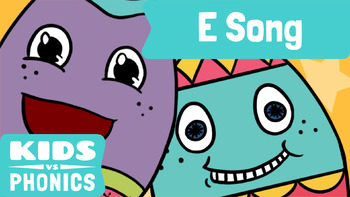 Kids vs Phonics Songs for Children - E