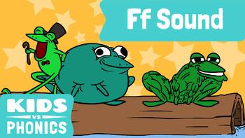 Kids vs Phonics Songs for Children - F