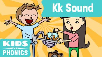 Kids vs Phonics Songs for Children - K