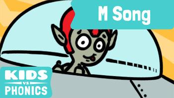 Kids vs Phonics Songs for Children - M