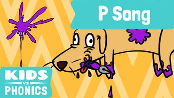 Kids vs Phonics Songs for Children - P