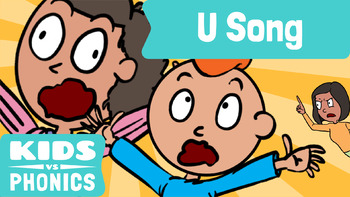 Kids vs Phonics Songs for Children - U