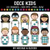 Big Dice Kids Clipart