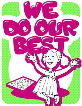 Kids with Character Classroom or Bulletin Board Posters
