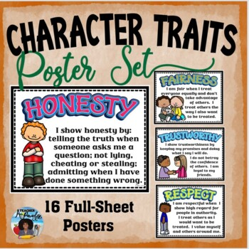 Kids with Character Posters