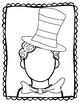 Read Across America Kids with Hats Writing Activity