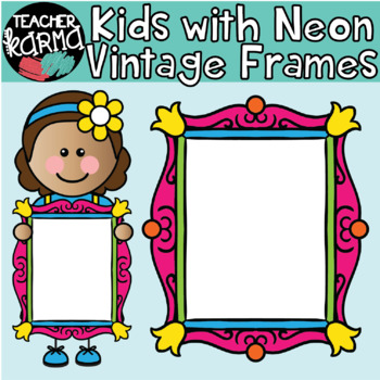Kids with NEON Vintage Frames