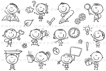 Kids with Symbols